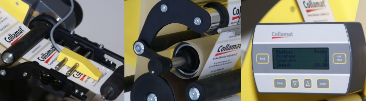 Collamat label applicators
